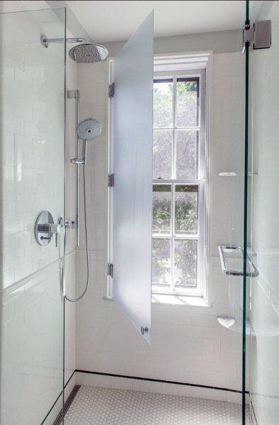 Top 70 Best Shower Window Ideas - Bathroom Natural Light
