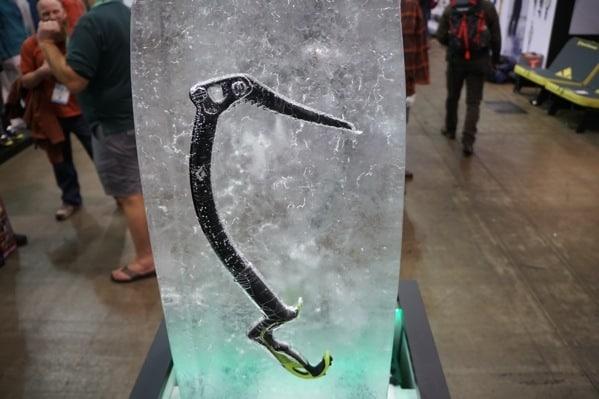 Frozen Climbing Gear