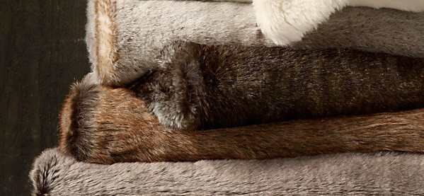 Faux Fur Throw Blankest