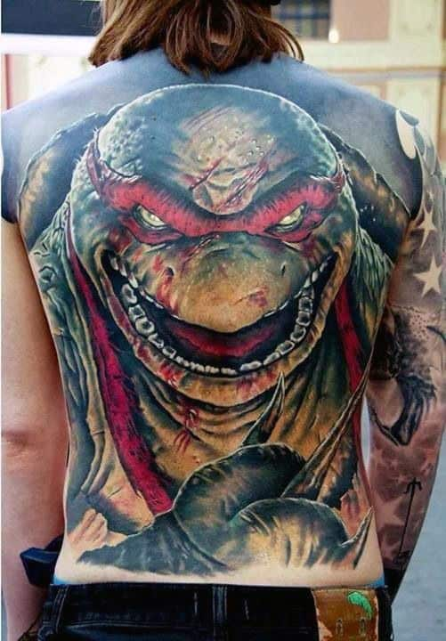 70 teenage mutant ninja turtle tattoo designs for men hero ink. Black Bedroom Furniture Sets. Home Design Ideas