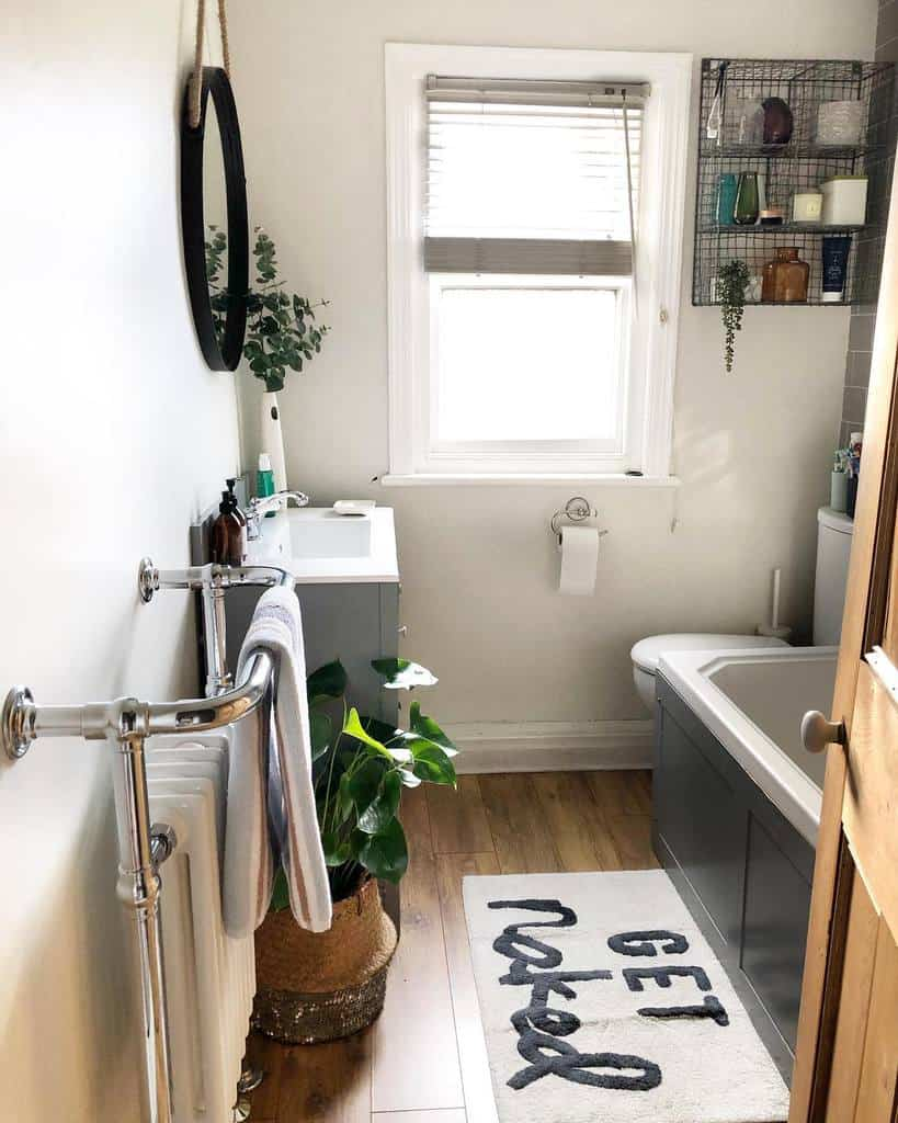 Full Bathroom With Tub Small Bathroom Ideas Cups Of Tea And Faffing