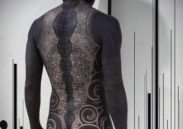 Full Body Tattoo Black