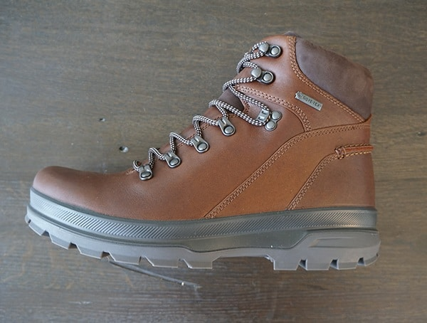 Full Grain Leather Ecco Rugged Track Gtx Hi Boots For Men