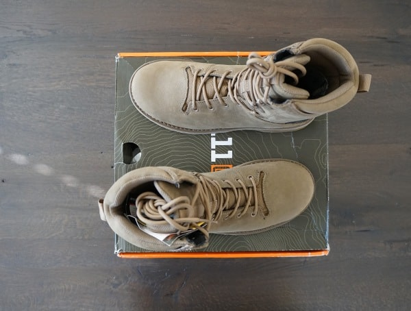 Full Grain Leather Tactical Boots For Men 5 11 Tactical Apex