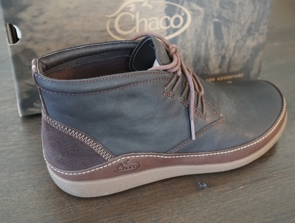 Full Grain Leather Upper Mens Chaco Montrose Chukka Boots