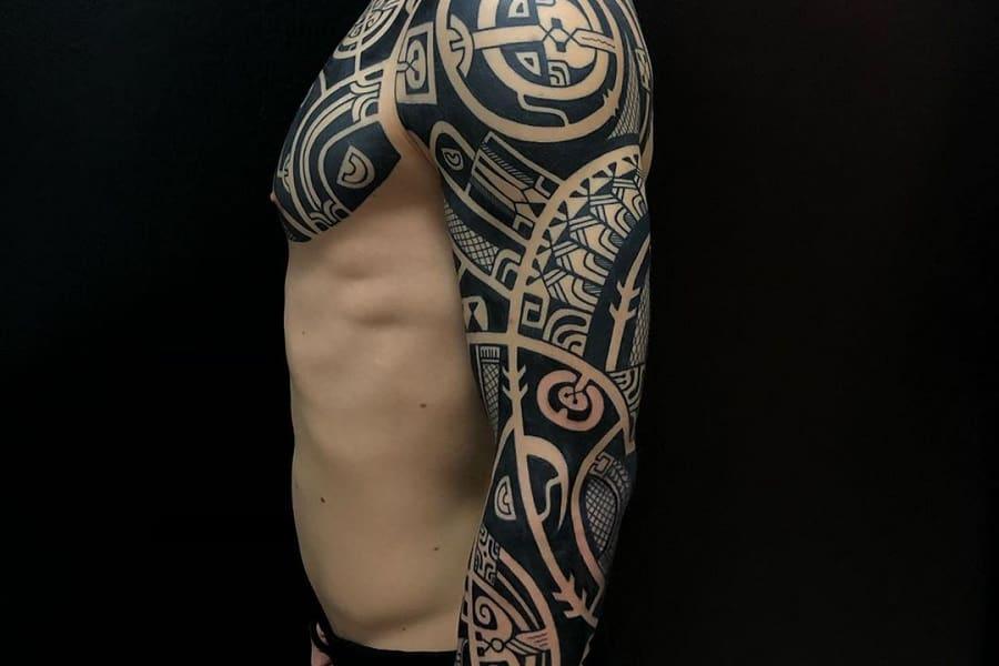 Top 50+ Best Black Arm Tattoo Ideas – [2021 Inspiration Guide]