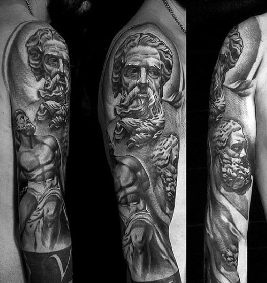 80 Zeus Tattoo Designs...