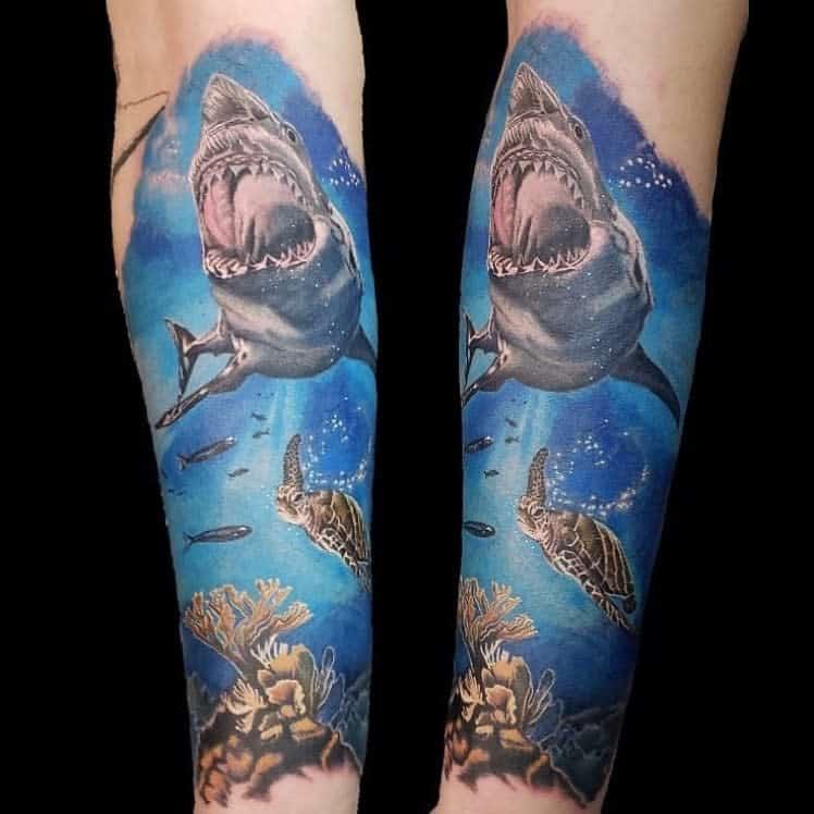 Top 77 Best Ocean Tattoo Ideas 2020 Inspiration Guide