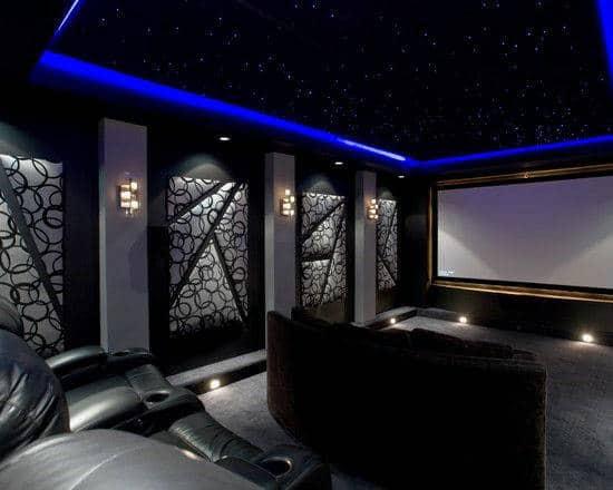Home Cinema Luxury Man Cave