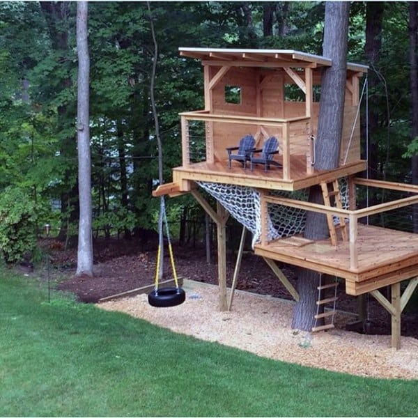 Fun Tree House Ideas