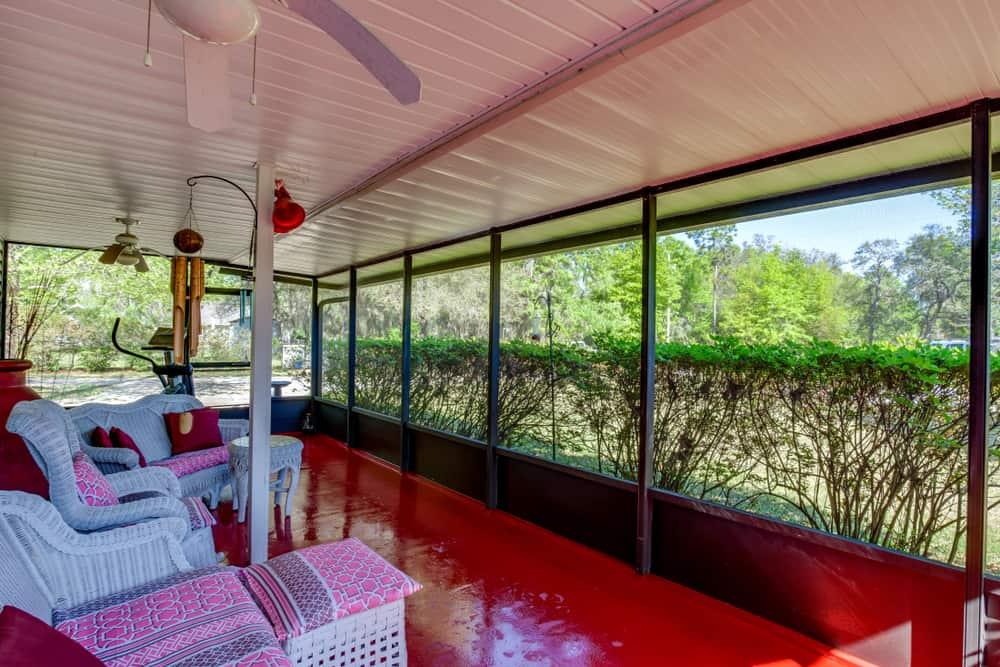 furniture enclosed patio ideas 1