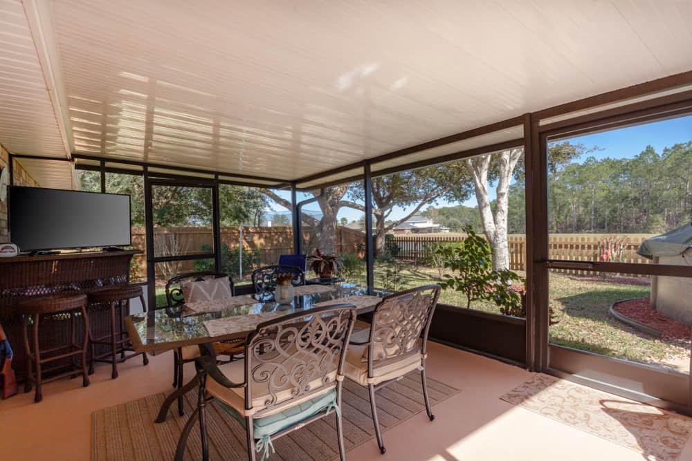 furniture enclosed patio ideas 5