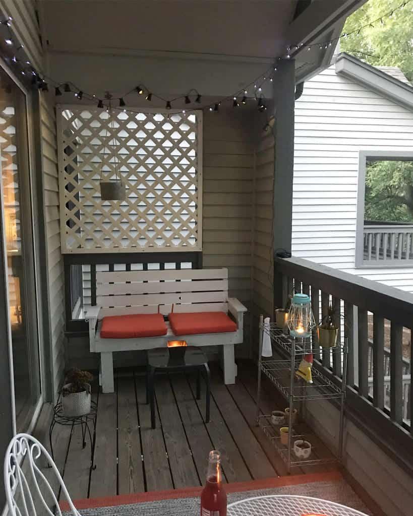 furnitures apartment patio ideas daniellekirrane