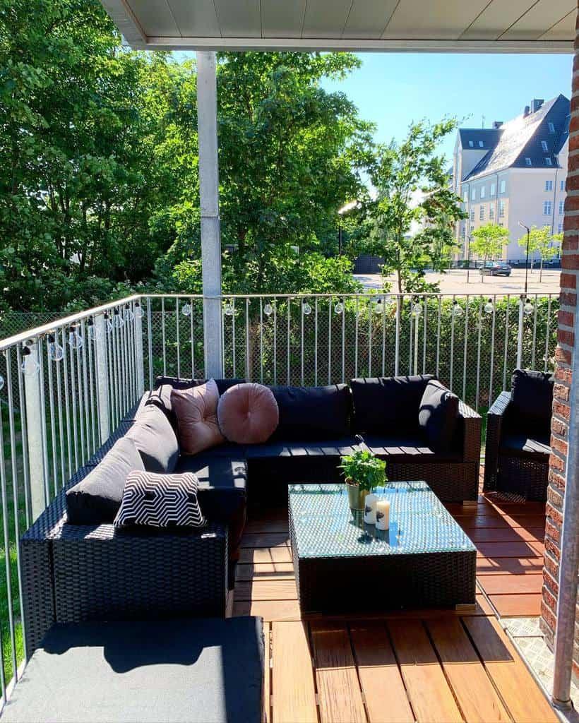 furnitures apartment patio ideas myscandichome