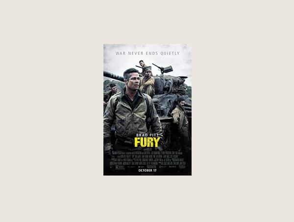 Fury Best Military Movies