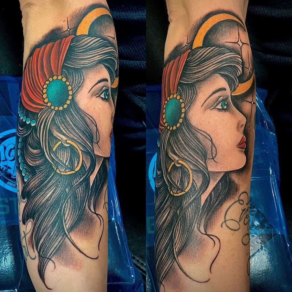 Fusion Gypsy Tattoo