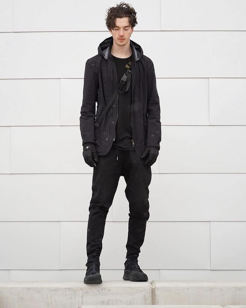 futuristic fashion for men Matrix inspired sporty vibe meets urban look