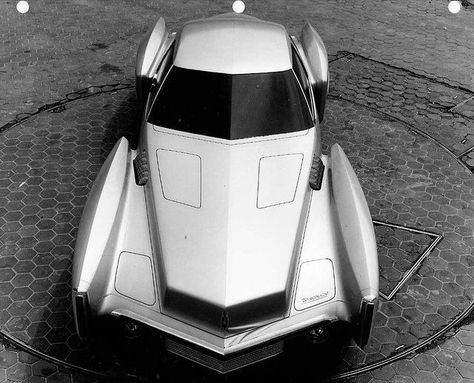 Futuristic Vintage Strange Looking Cars