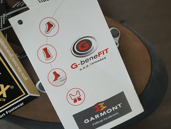 G Benefit Tag Features Garmont Dakota Lite Gtx Boots For Men