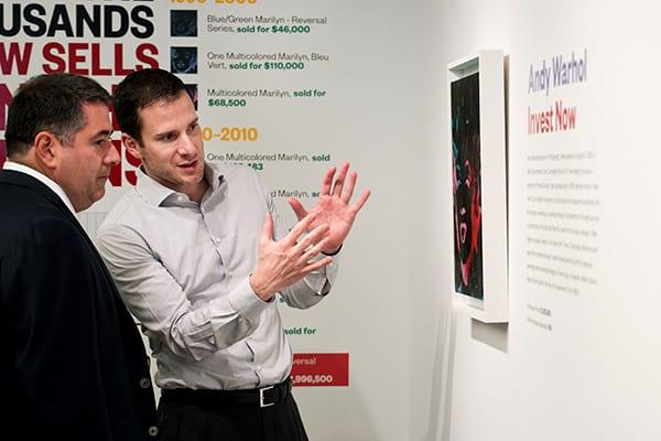 Masterworks Gallery Auktion und Investieren