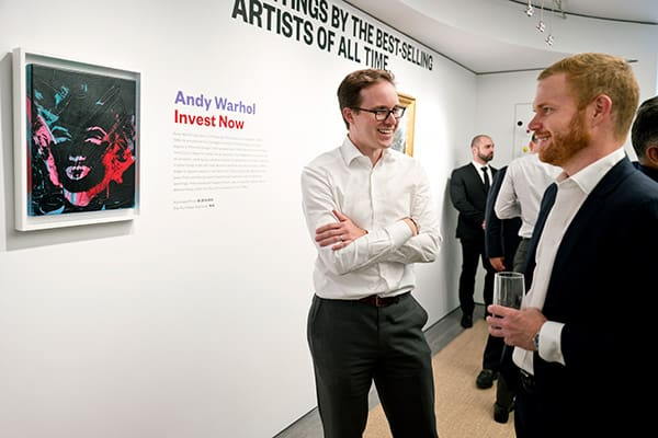 Kunstinvestition Andy Warhol