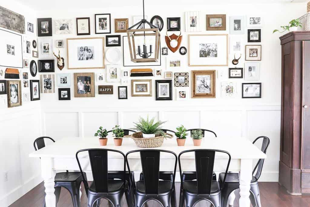 gallery dining room wall decor ideas freshfarmhousefeels