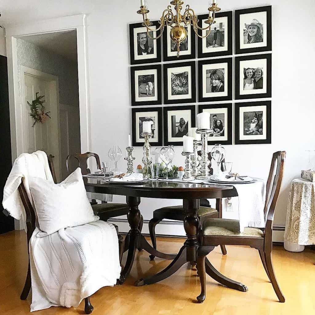 gallery dining room wall decor ideas ourcottagenest
