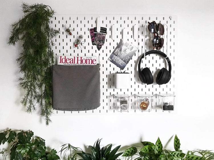 Gallery Walls Entry Room Pegboard Ideas Farmers Cottages