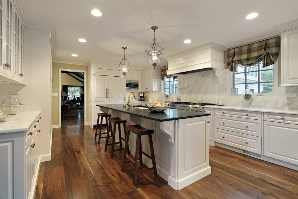 galley farmhouse kitchen ideas 3