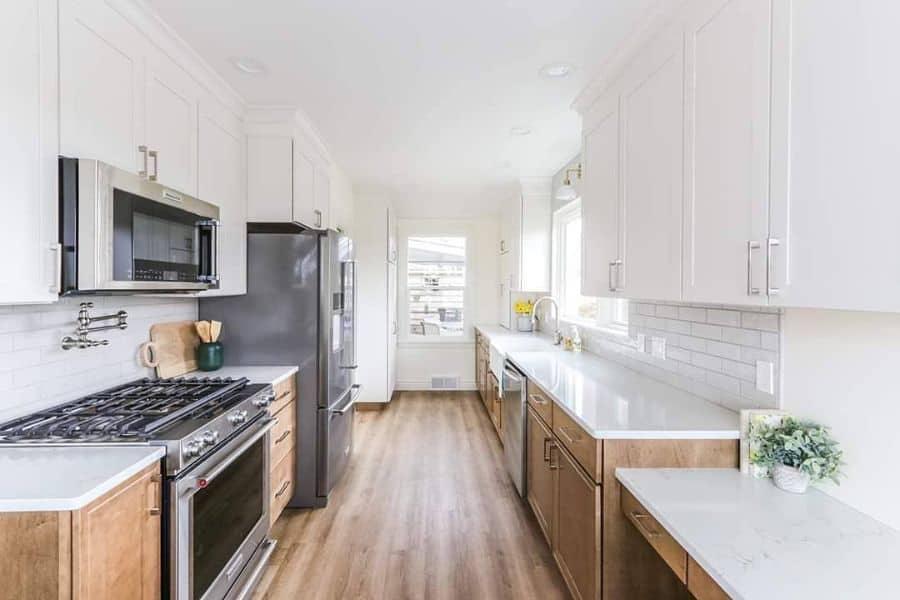 galley farmhouse kitchen ideas cmfreshperspectives