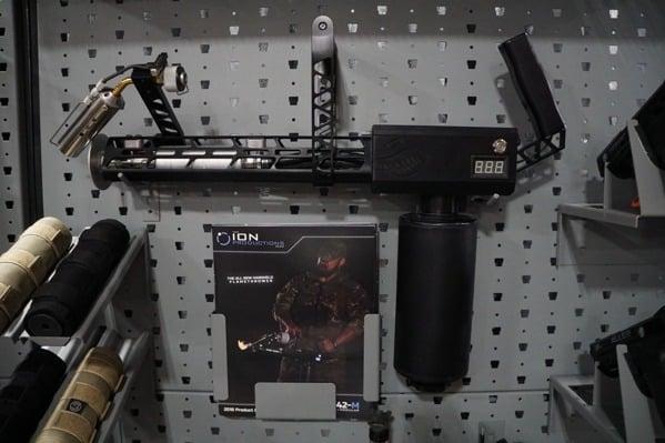 Gallow Tech Flamethrower Shelf