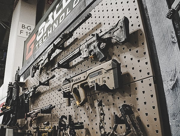Gallow Tech Gun Wall Displays