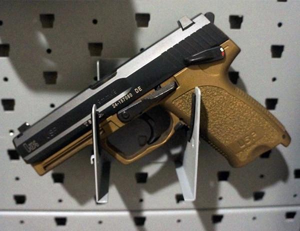 Gallow Tech Handgun Hanger With Burnt Bronze Hk Usp 9 Full Size