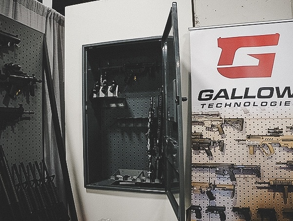 Gallow Tech Shot Show 2019 New In Wall Cabinet Safe