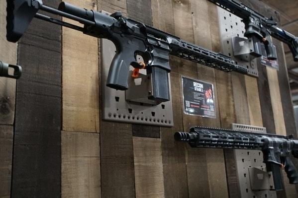 Gallow Tech Single Rifle Wall Magazine Shelf