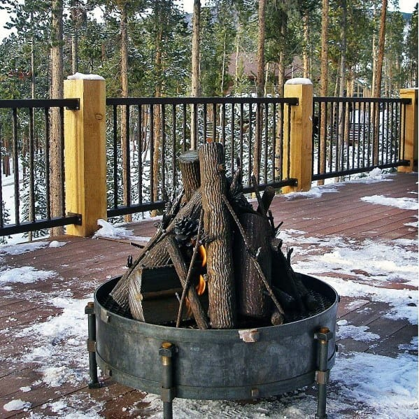 Galvanized Metal Fire Pit Ideas