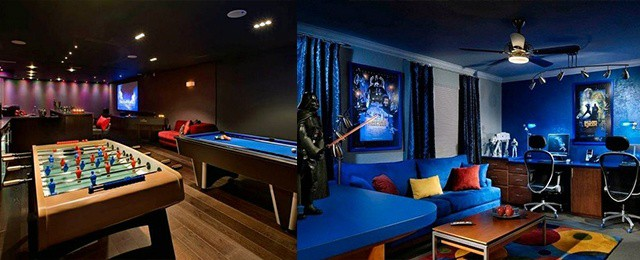 Garage Makeover Living Spaces Man Caves