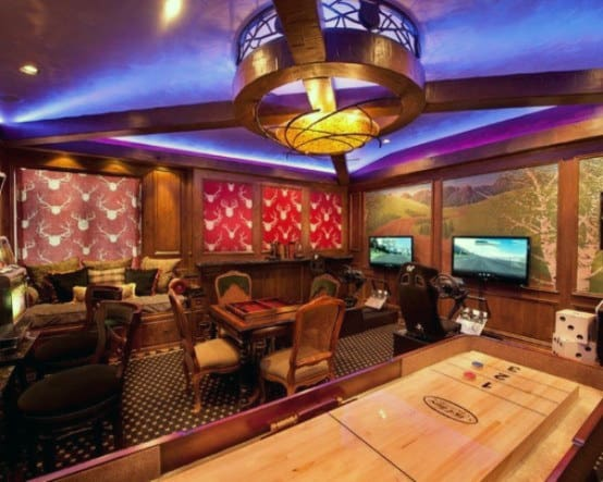 Gaming Room Guys Home Basement Ideas