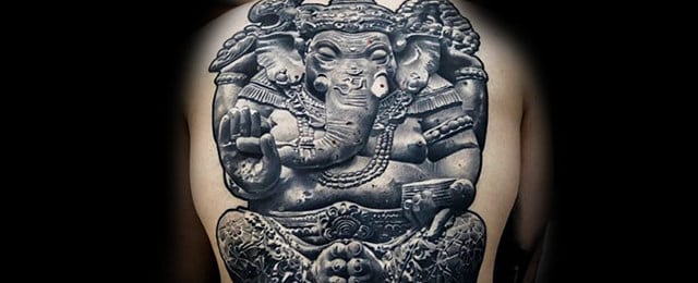 Ganesh Tattoo Designs For Men