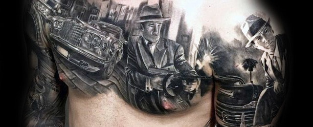 Top 49 Best Gangster Tattoo Ideas – [2020 Inspiration Guide]