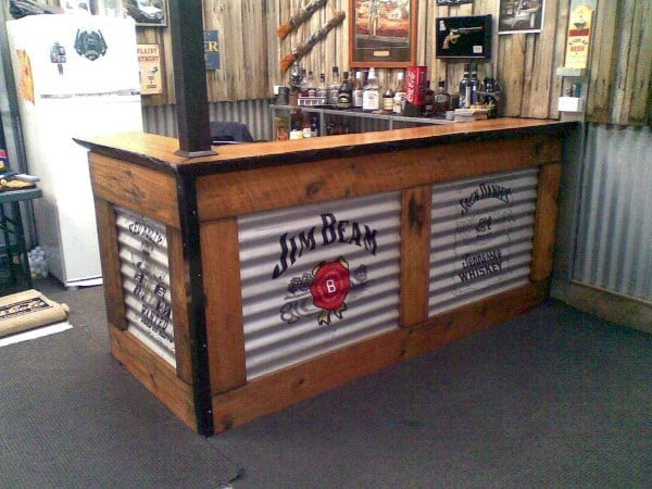 Garage Bar Designs