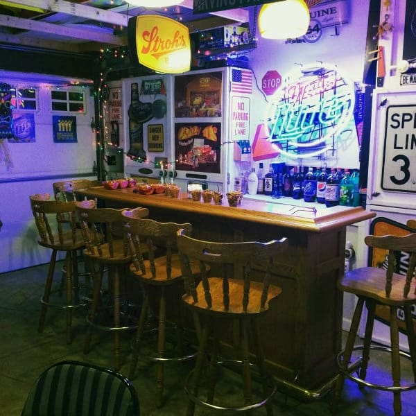 Garage Bar Ideas For Guys