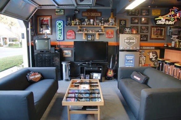 Garage Bar Ideas For Men