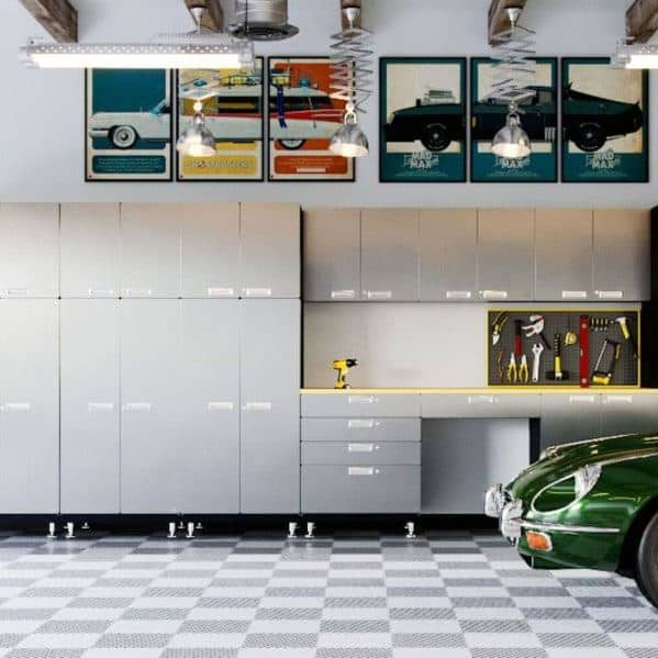 Garage Cabinet Design Inspiration