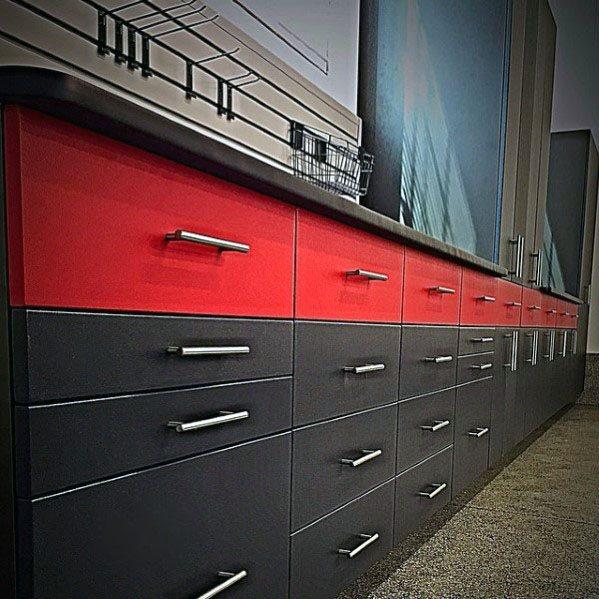 Garage Cabinet Storage Design