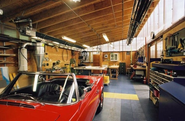 Garage Car Workshop Ideas