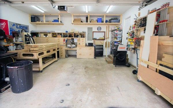 Garage Designs For Workshop