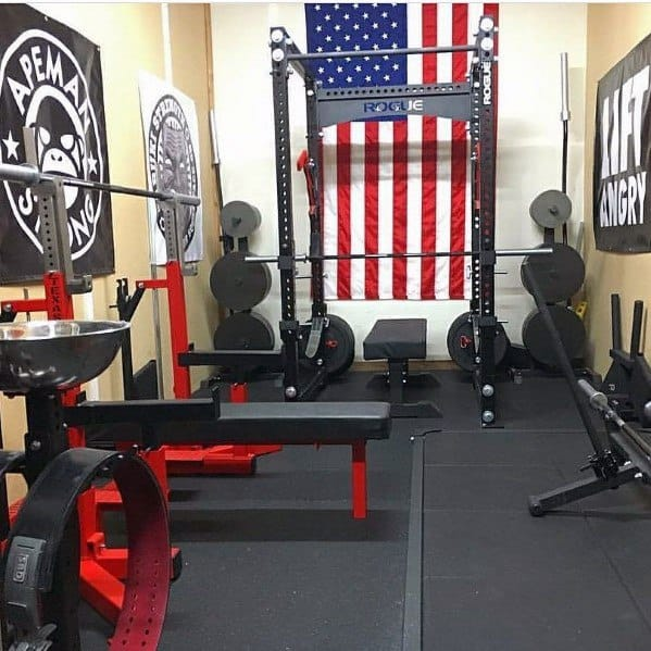 Top best garage gym ideas home fitness center designs