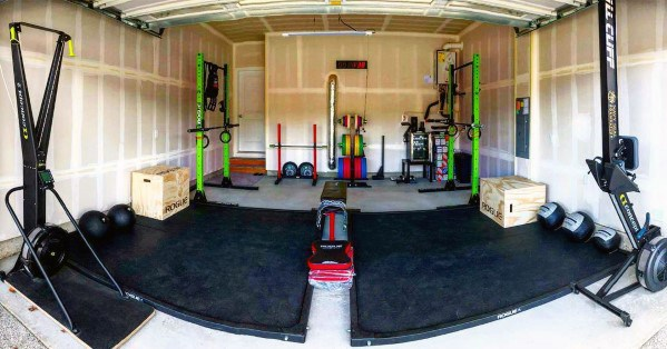 Garage crossfit mats for garage gym the home flooring you need