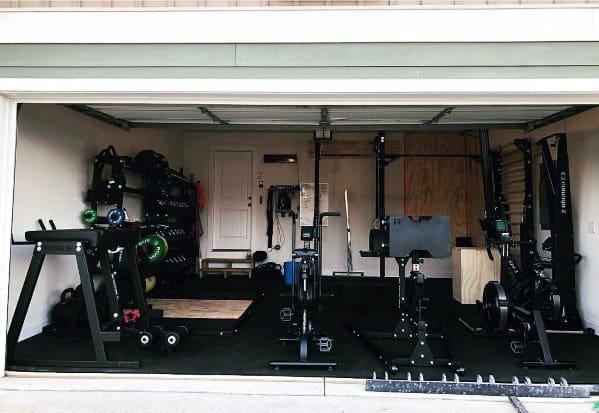 Garage Gym Layout Ideas